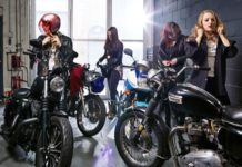 motorbike gang fashion